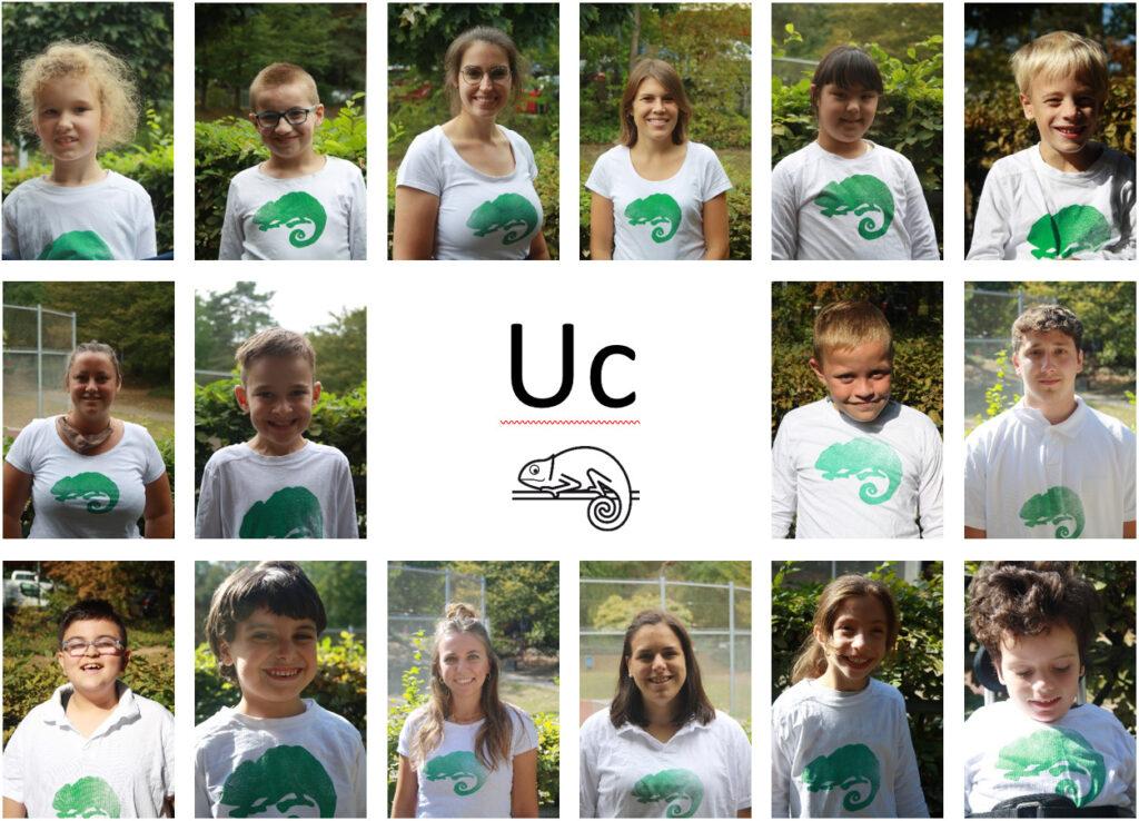 Klassenfoto der Uc