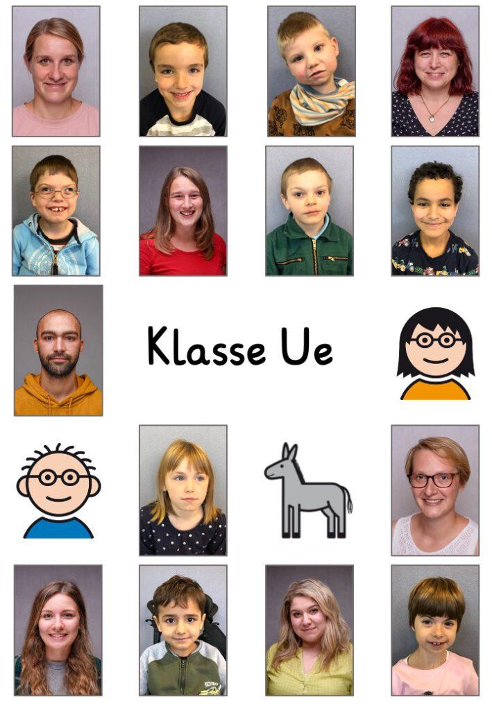 Klassenfoto Ue
